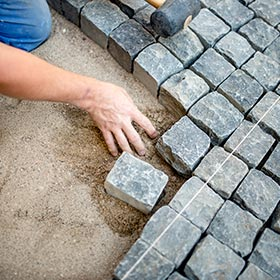 Block paving and driveways